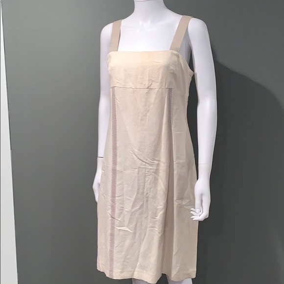 Harve Benard Dresses & Skirts - Harve Bernard WOMANS cream linen dress SZ.8